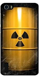 Funda para Huawei Honor 6 - Radioactivo by Carsten Reisinger