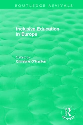 Inclusive Education in Europe (Routledge Revivals)