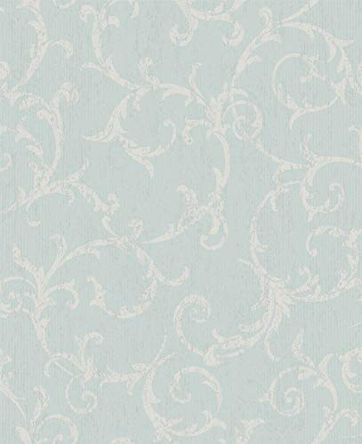 (Graham and Brown 104964 Empress Scroll Damask Floral Paste-The-Wall Non-Woven Wallpaper)