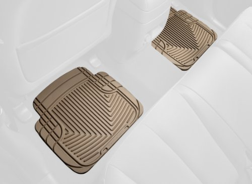 Weathertech 2005 Lincoln Aviator - WeatherTech All-Weather Trim to Fit Rear Rubber Mats (Tan)
