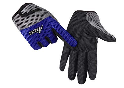 Men Women Bike Gloves Sunscreen Gloves Sun Gloves Fishing Golf Driving Sunscreen Gloves Stretch Anti-Slip Sun UV Protection Bicycle Gloves Summer Lady Full Finger Gloves Motorcycle Mittens