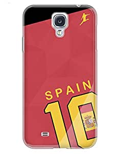 Spain World Cup Shirt Case for your Galaxy S4
