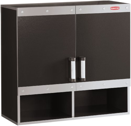 Rubbermaid Garage Cabinets (Rubbermaid Fast track Garage Storage System Wall Cabinet, FG5M1600CSLRK)