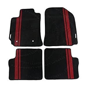 LT Sport Custom Fit 02-06 Toyota Corolla Stylish Nylon Floor Mats Carpet