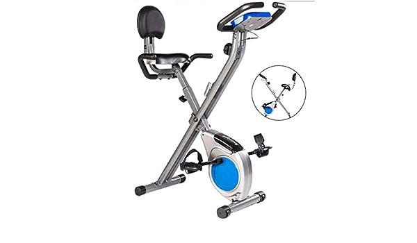 Bicicleta estática plegable,con respaldo,bicicleta estática ...