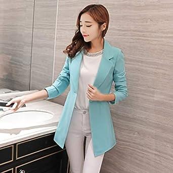 XuBa Slim Women Elegant Long Ladies Blazers Plus Size Female Blazer Jackets Chaqueta Mujer Female Business