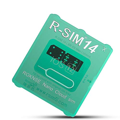 Ladeyi Phone Unlock Card R-sim14 Perfectly Unlocks Universal Worldwide Rsim  Nano Unlock Card R-SIM14 X Ultra ICCID SIM Applicable for All Models (OPP