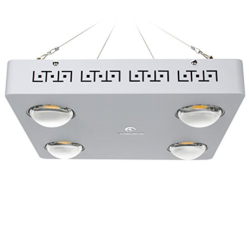 $565.00 LED Grow Light Full Spectrum, CANAGROW 400W Cree CXB3590 COB LED Plant Grow Lights Grow Lamp for Indoor Plants, Plant Growing Light Lamp Panel for Hydroponics Veg and Flower 2019