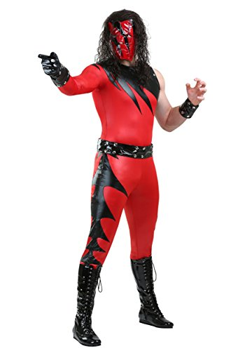 Kane Costume WWE Kane Costume for Men Officially Licensed Small Red ()