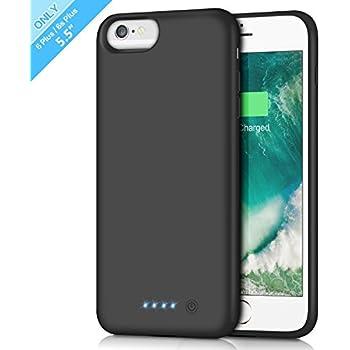 Battery Case for iPhone 6s Plus/ 6 Plus 8500mAh, Rechargeable Extended Charging Case for iPhone 6Plus Battery Pack Apple 6s Plus Portable Power Bank [5.5 ...
