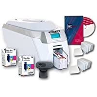 Magicard Rio Pro Single Side ID Card Printer & Supplies Package with Card Imaging Software