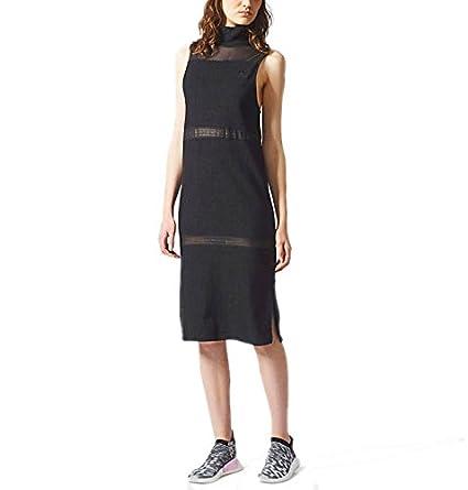 adidas BR9554 Vestido de Tenis, Mujer, Negro, 38