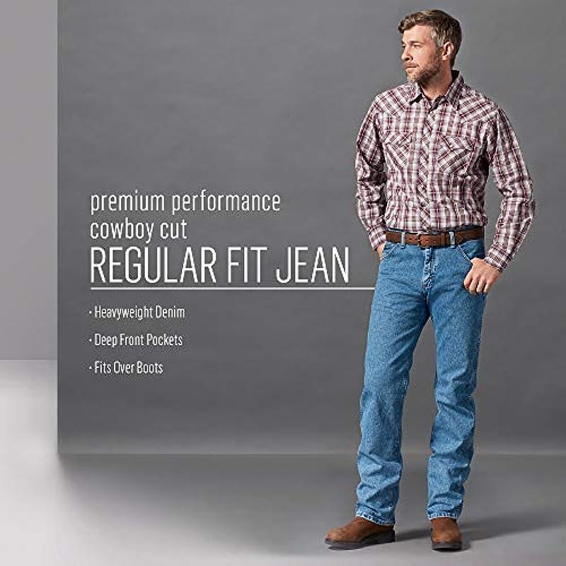 Wrangler Męskie dżinsy Premium Performance Cowboy krÓj Regular Fit: Odzież