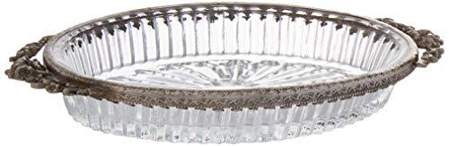 Abbott Collection 34-BOUDOIR-3560 Pressed Oval Soap Dish-6