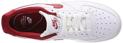 Nike Damen Wmns Air Force 1 07 SE Gymnastikschuhe Mehrfarbig (Whitegym Redwhitegym Red 101)
