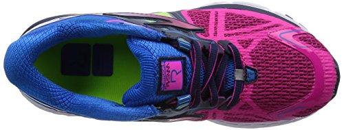 BrooksRavenna 6 - Zapatillas de running mujer Rojo - Red (Pinkglo/Electricbluelemonade/Dressblues)