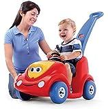 لعبة عربة ركوب اطفال تعمل بالدفع انيفيرساري اديشن من ستيب 2، لون احمر وازرق - 717000