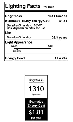 Westinghouse 0311000 15-Watt (Replaces 90-Watt) PAR38 LED Flood Outdoor Wet Location Warm White Light Bulb with Medium Base