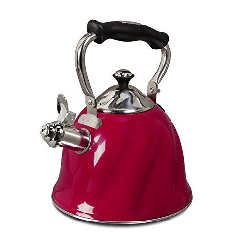 Mr Cofee Alderton Stainless Whistling 2.3 quart Tea/Coffee K