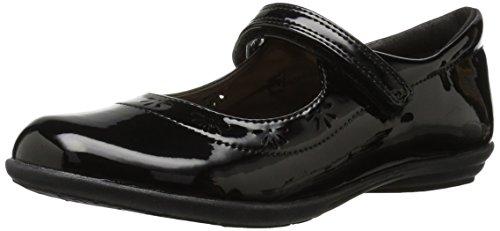 The Children's Place Girls' E BG UNIF Class Uniform Dress Shoe, Black, 1 Youth US Big Kid (Youth Footwear Black)