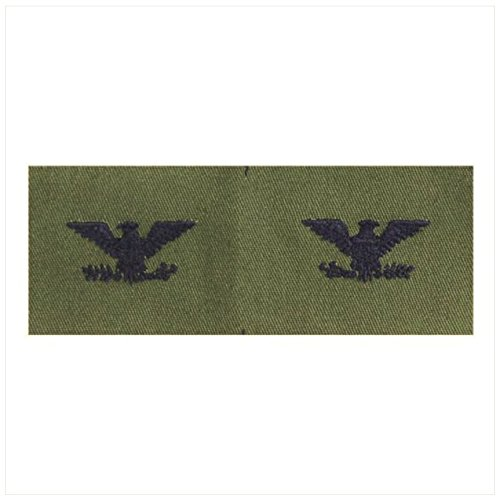 Vanguard AIR FORCE EMBROIDERED RANK: COLONEL - SUBDUED FATIGUE