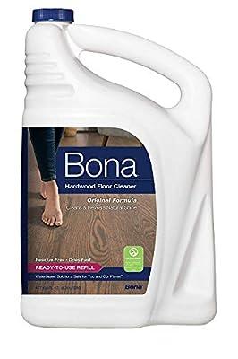 Bona Hardwood Floor Cleaner Refill, 128 Fl Oz