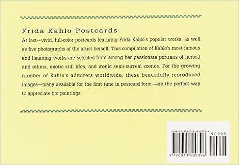 Frida Kahlo Postcard Book (Collectible Postcards): Frida Kahlo ...
