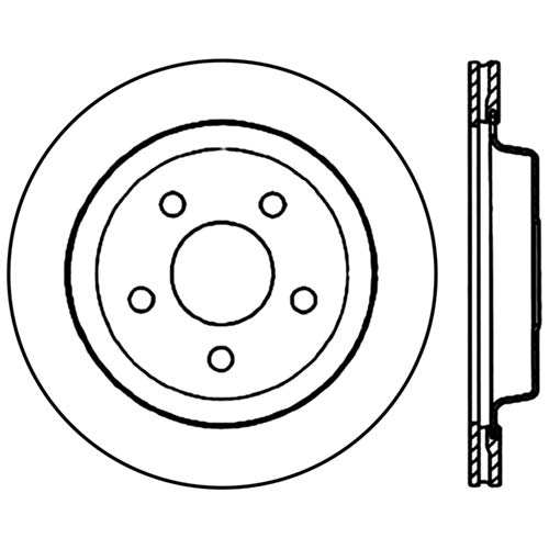 StopTech 125.62049CRY Brake Rotor