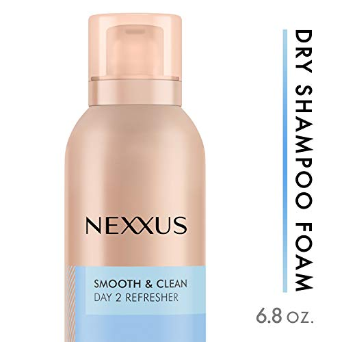 Nexxus Between Washes Dry Shampoo Foam for oily hair Smooth & Clean instantly refreshes hair 6.8 oz