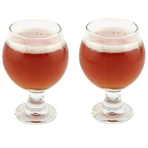4 Ounce Sampler - Libbey Belgian Beer Taster Glass 5 oz - 2 Pack w/ Pourer