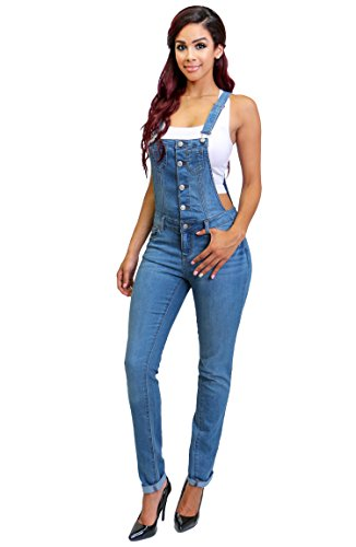 Fashion Distressed Adjustable Overalls Collection