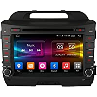 FEELDO 8 Android 6.0 (64bit) DDR3 2G/32G/4G LTE Octa Core Car DVD GPS Radio Head Unit For Kia Sportage/Sportage R(2010~2015) (F8)