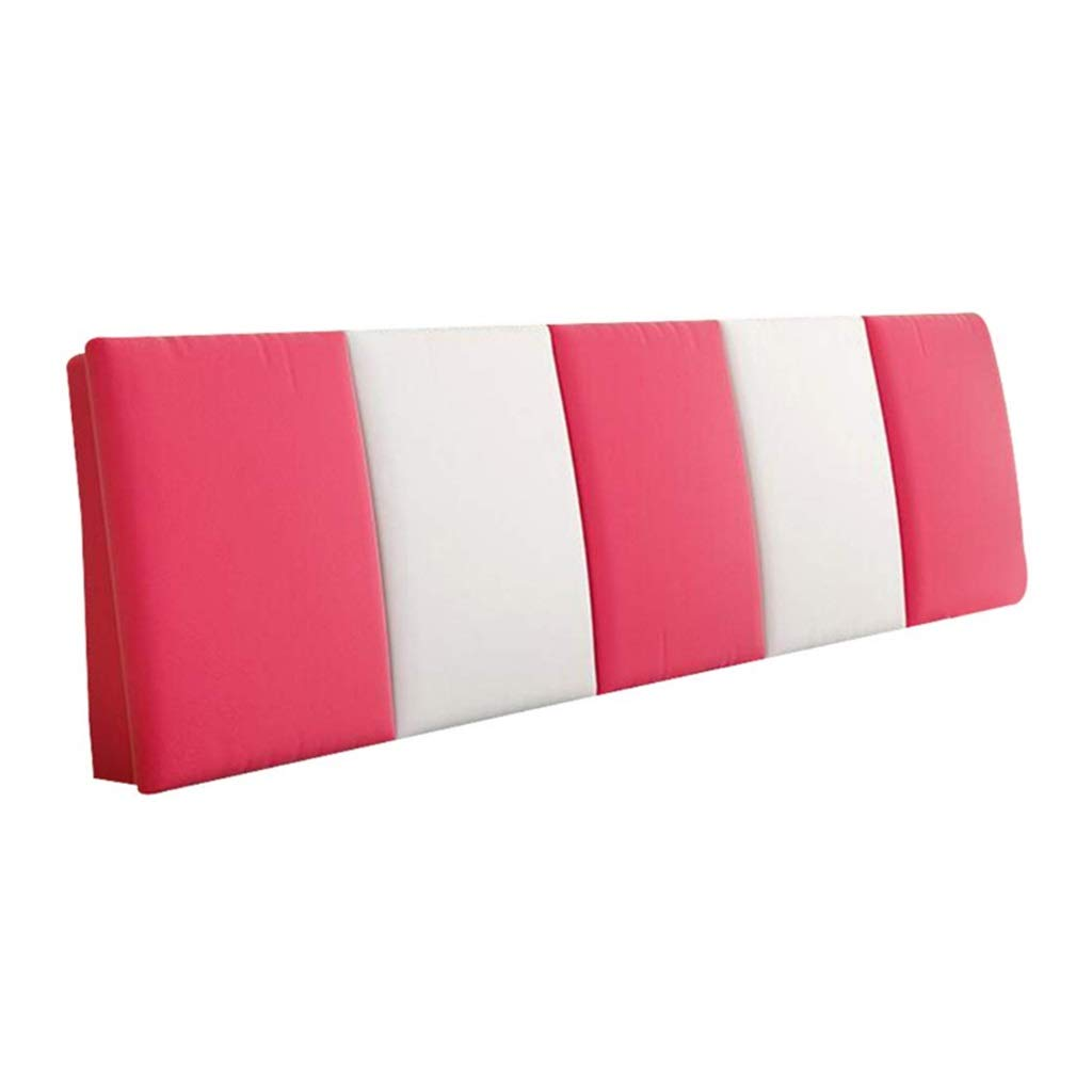 ZHWNGXO Bedside Cushion Without headboard backrest Soft pad Soft Pillow Waist pad can be Cleaned 3 Colors 12 Size (Color : C, Size : NO Bed Head 180×55cm) by ZHWNGXOlian