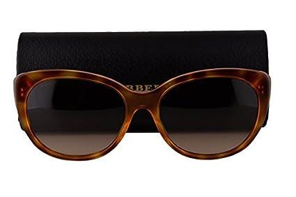 Amazon.com: Burberry anteojos de sol be4224 Light Havana W ...