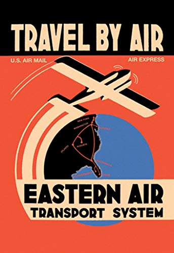 Buyenlarge Travel by Air Eastern Air Transport System Wall Decal, 36