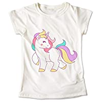 Blusa Unicornio Colores Little Poni Playera Estampado 062
