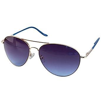 Chic-Net Sonnenbrille Unisex Pilotenbrille Pornobrille getönt Rahmen bunt 400UV Fliegerbrille pink V145oKHvg
