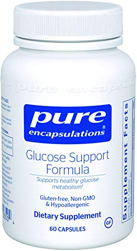 Pure Encapsulations - Glucose Support Formula - Hypoallergenic Supplement Supports Healthy Pancreas Function and Glucose Metabolism* - 60 (Gluco Support Formula)