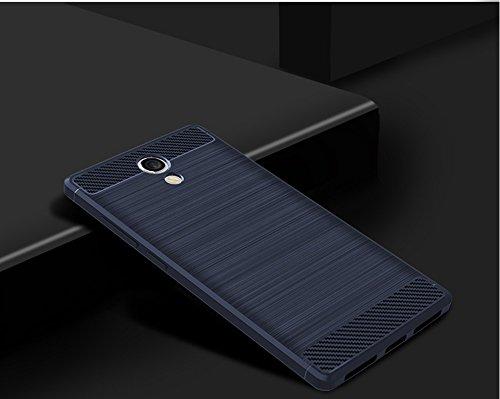 Funda Lenovo Vibe B,Funda Fibra de carbono Alta Calidad Anti-Rasguño y Resistente Huellas Dactilares Totalmente Protectora Caso de Cuero Cover Case Adecuado para el Lenovo Vibe B C