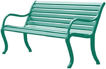 Fast Oasi Banco de jardín 3 asientos cm. 162 Art. 593 Color Verde ...