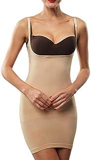 Franato Women's Shapewear Dress Control Slip Full Body Shaper Open