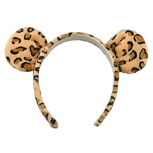 (Jaguar Leopard Wild Cat Ears Headband Costume)