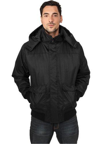 Urban Classics giacca invernale da uomo con cappuccio Heavy TB429, taglia: XL