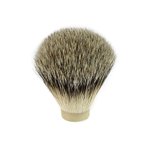 Super Badger Hair Shaving Brush Knot (20mm x 63mm)
