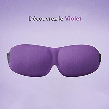 Masque des Yeux Sommeil Voyage 3D comfortable Trilancer Anti-lumi/ère/pour homme femme avec 2/bouchons doreilles/professionels Masques de sommeil