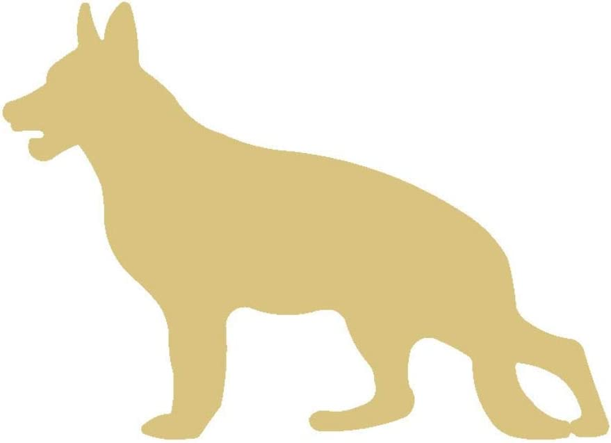 GERMAN SHEPHERD DOG CRAFT  SUPPLIES STENCIL ~ HANDCRAFTED IN THE USA