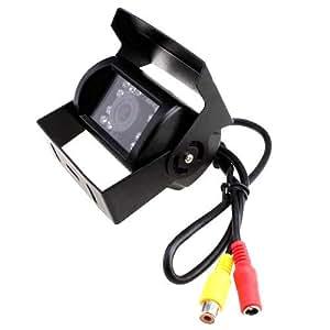 accfly & # 8482; Impermeable Coche Marcha Atrás Visión Nocturna Cámaras con vehículo de visión trasera inversa cámaras 628* 582P Copia de seguridad IR Cam para Bus salida de vídeo