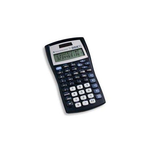 Texas Instruments TI-30XIIS Solar Scientific Calculator - 2 Line(s) - LCD - Solar Powered - 5.1 x 2.6 x 0.5 - NEW - Retail - TI-30X-IIS