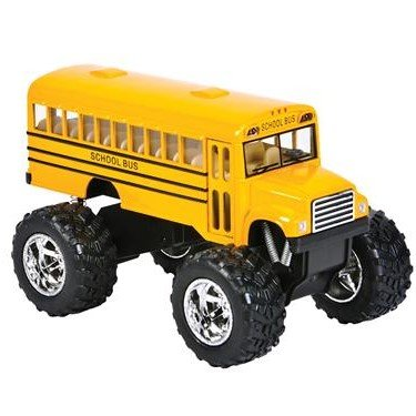 5  Diecasat Pull Back Big Wheel Monster Yellow School Bus Set Toys 1 Pc Set   Friction Powered Push   Play Vehicles  Trucks  Toys And Gifts For Toddlers And Kids
