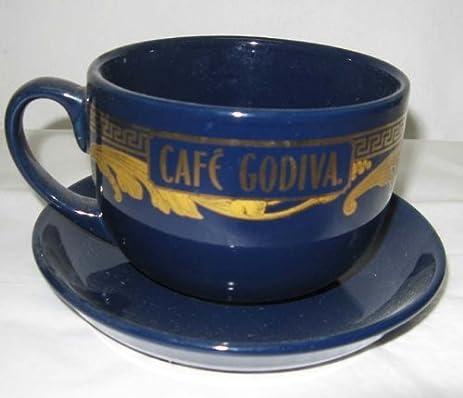 Amazon.com : Cafe Godiva Large Mug and Saucer - New : Everything Else